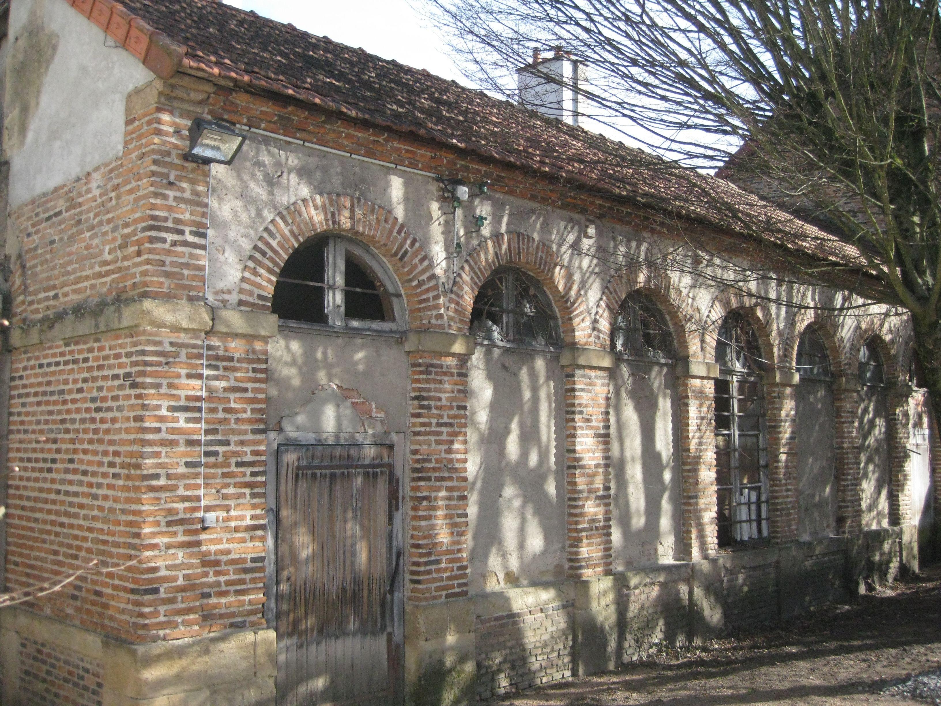 Orangerie de l'hôtel de Conny à Moulins