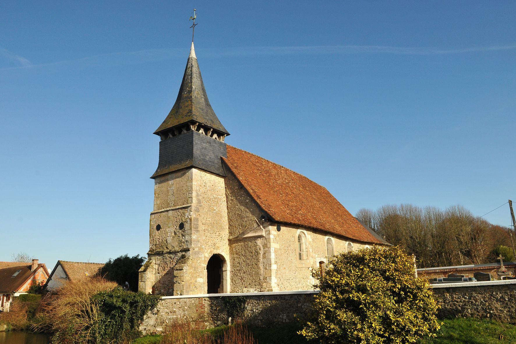 L'église de la Sainte-Trinité de Corny