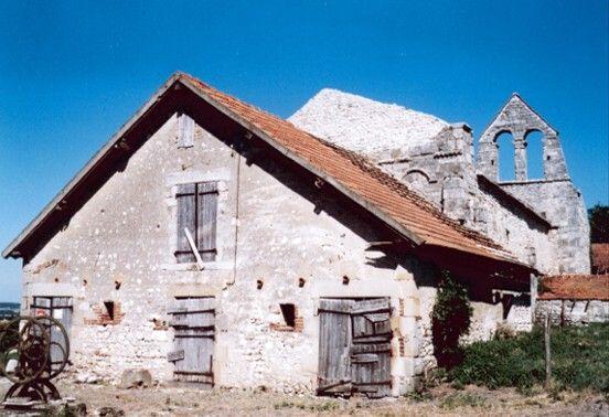 Eglise de Taxat en 1981