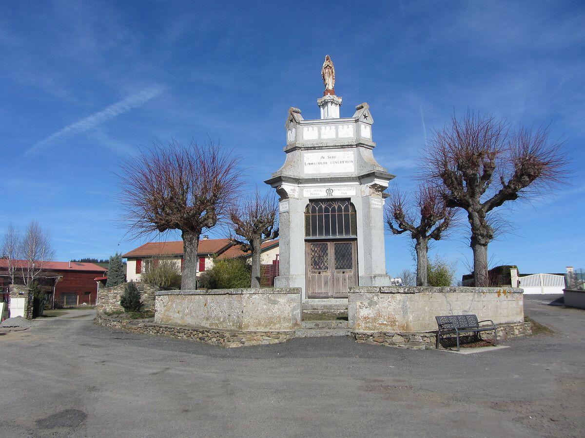 Sanctuaire Notre-Dame de Lourdes à Saint-Christo-en-Jarez