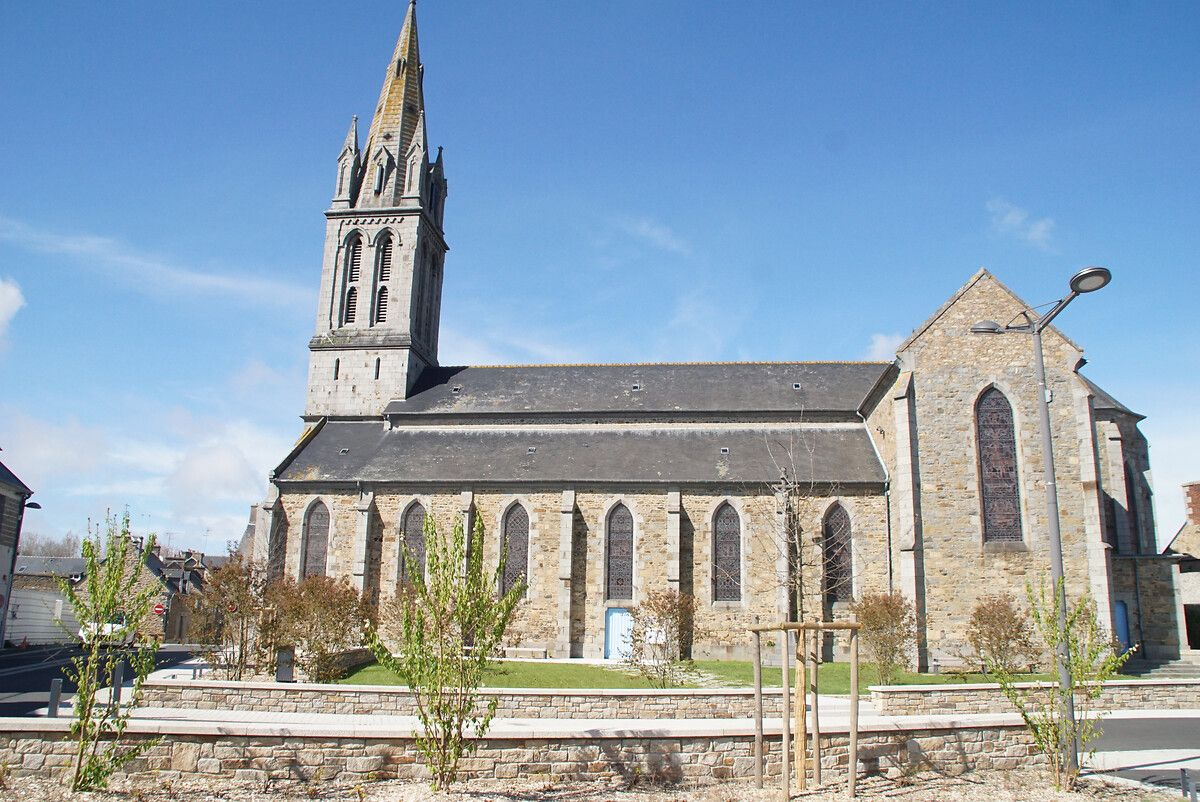 Eglise Saint-Aubin d'Yffiniac