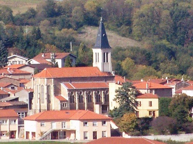 Eglise Saint Romain en Lyonnais de Rontalon