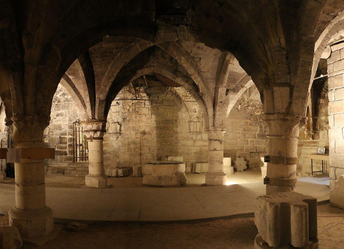 Le cellier médiéval de la Maison d'Ourscamp