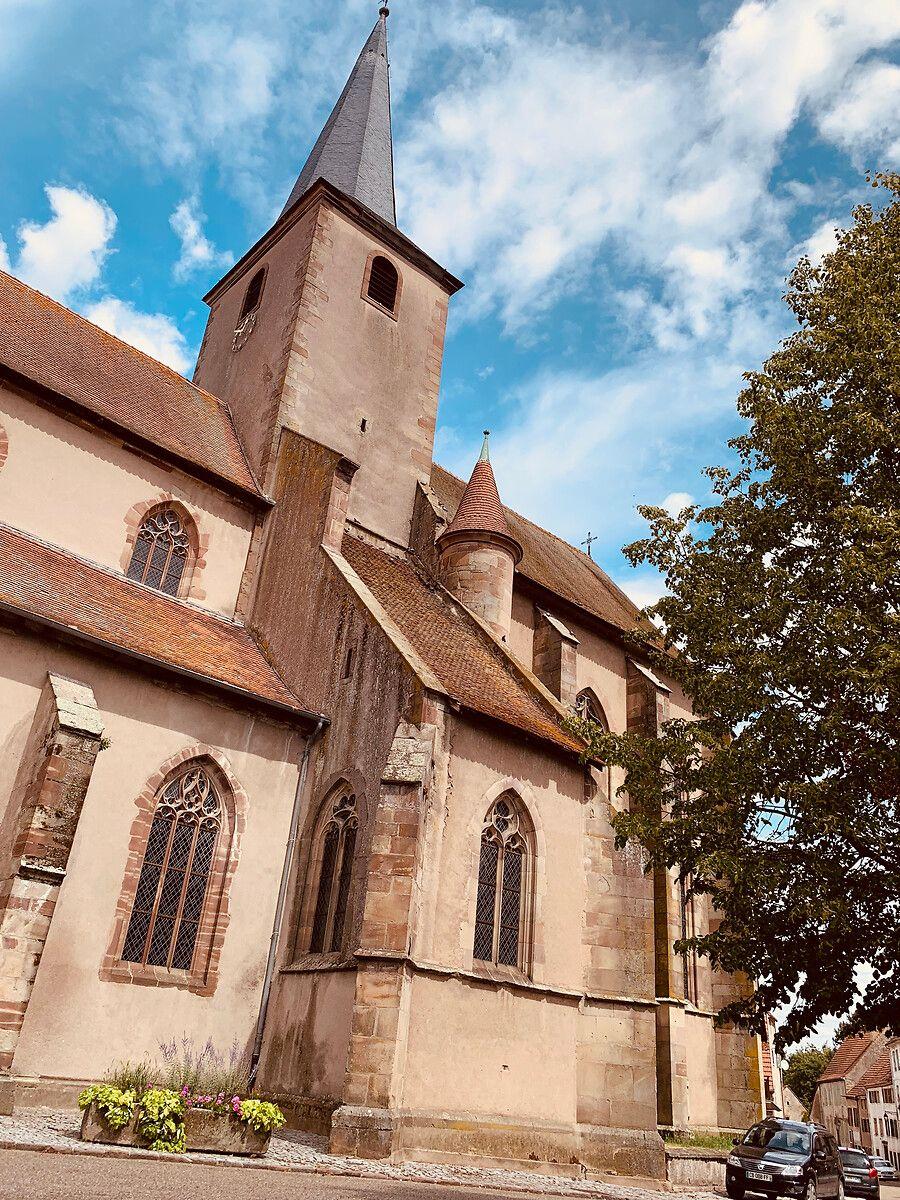 Collégiale Saint Rémy de Fénétrange en Moselle