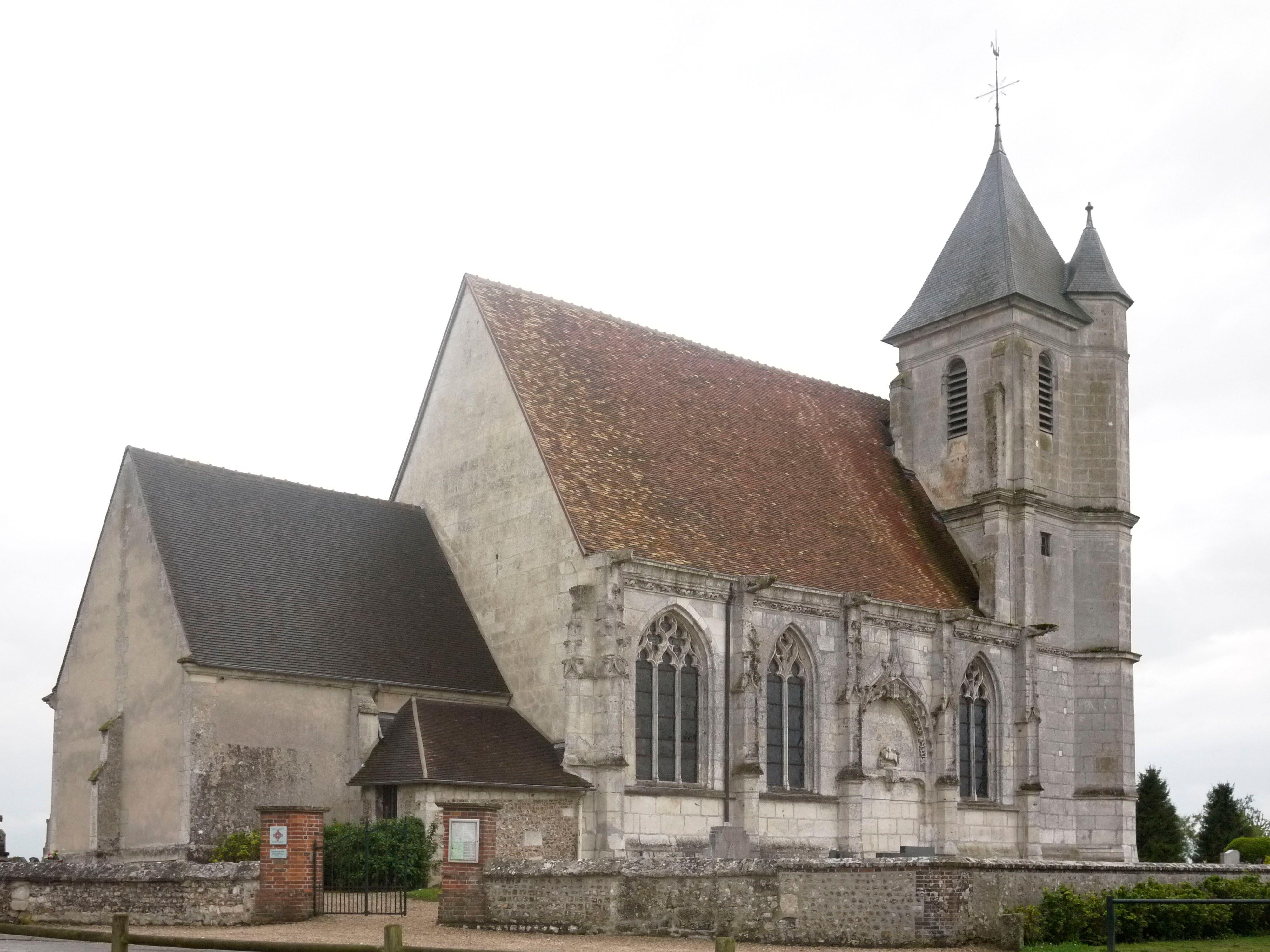 L'église Nnotre-Dame de Sacquenville