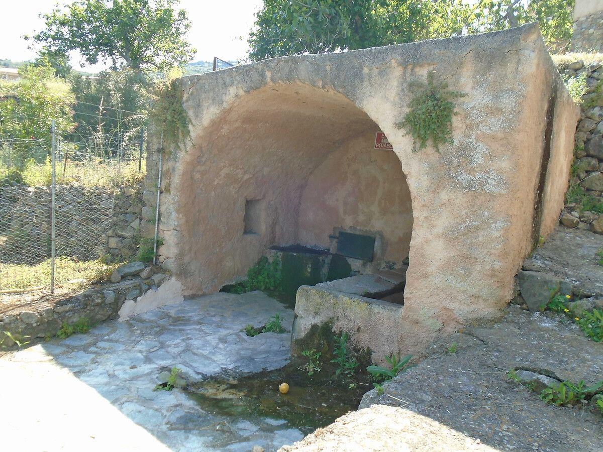 Fontaine de Praoli en Haute-Corse