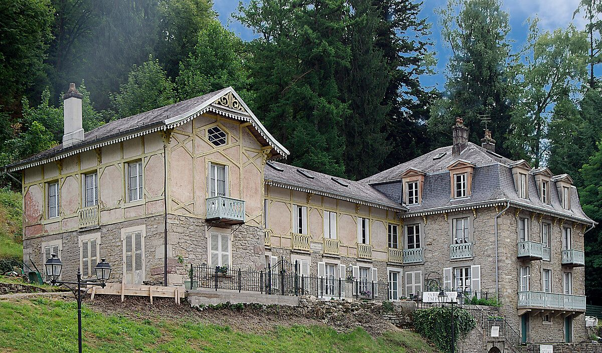 Chalet impérial Tivoli à Plombières-les-Bains