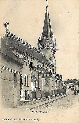 Archive -Eglise Saint-Médard de Vigny dans le Val d'Oise