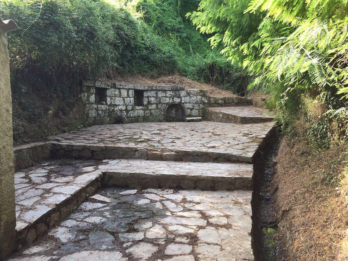 Fontaines d'Argiusta-Moriccio en Corse-du-Sud