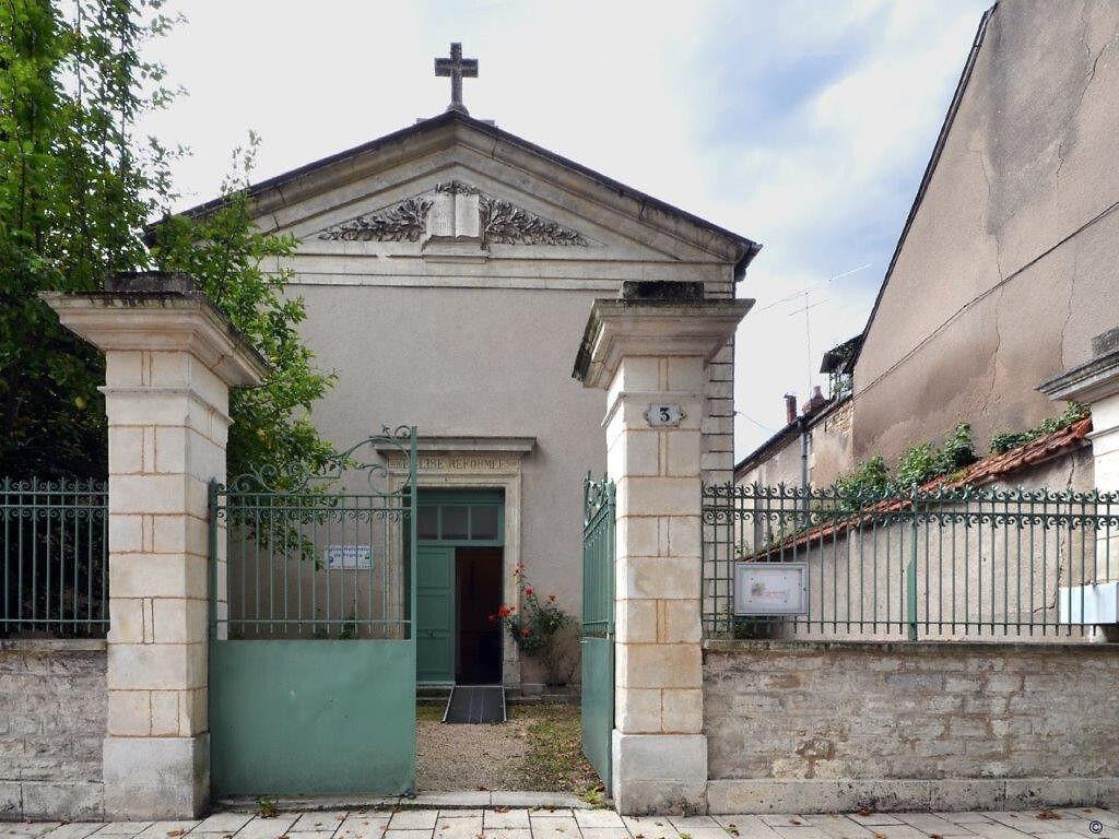 Temple de l'église réformée de Bourges