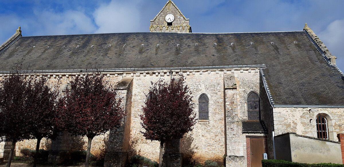 Eglise Saint Pierre de Sainville en Eur-et-Loir