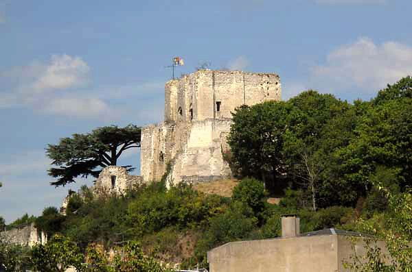 donjon et ruines du château de montrichard