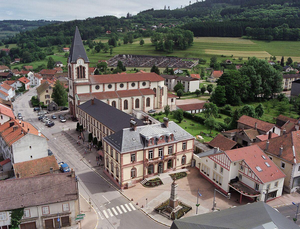 Eglise Saint-Nicolas de Plainfaing dans les Vosges