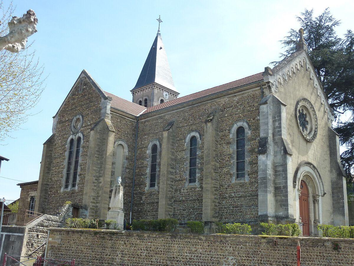 Église Saint-Pierre à Assieu