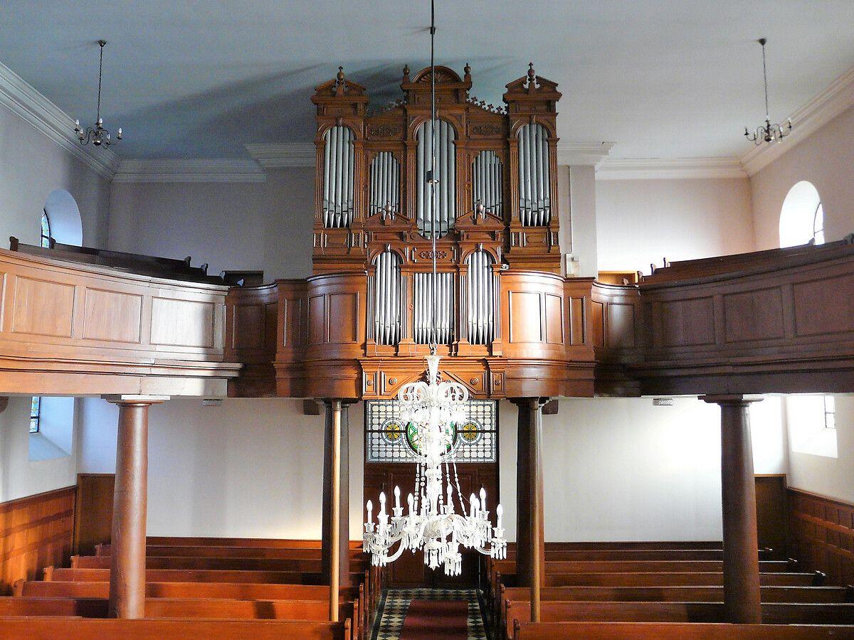 Orgue de l'église protestante de Niedersoultzbach