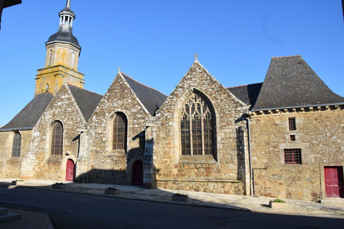 Clocher de l'église de Lanrelas