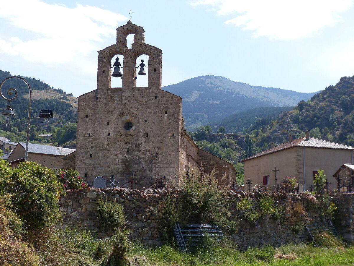 Eglise Saint-Fructueux à Llo