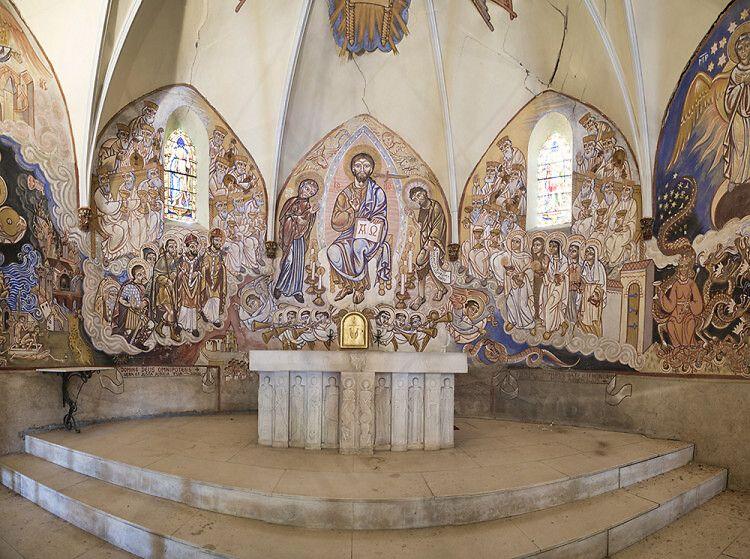 Eglise Saint-Amand à Cazedarnes