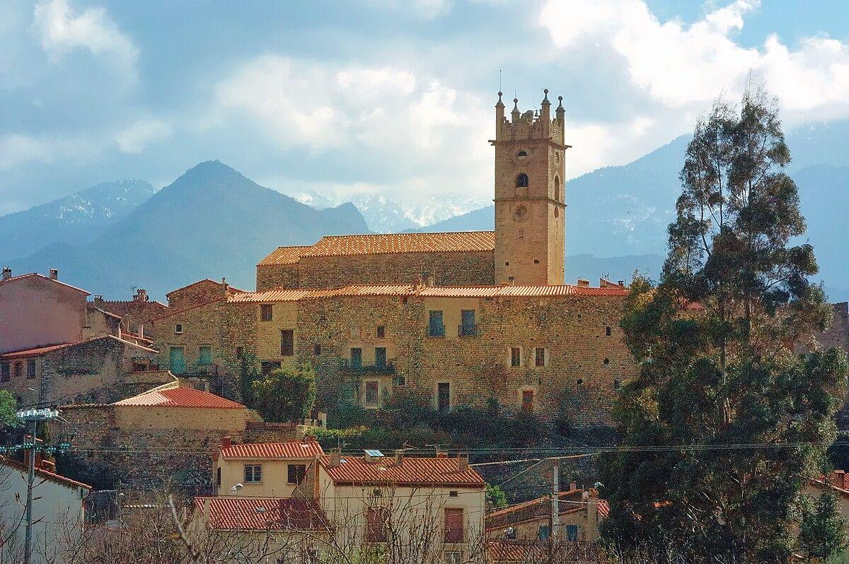 L'église Sainte-Eulalie à Marquixanes