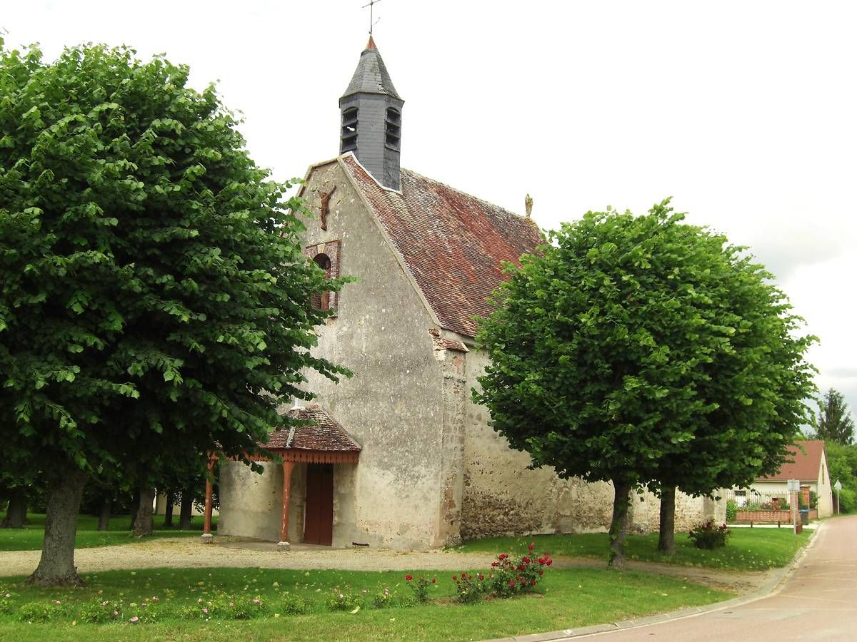 Eglise Saint-Pierre-et-Saint-Paul de Courceroy dans l'Aube