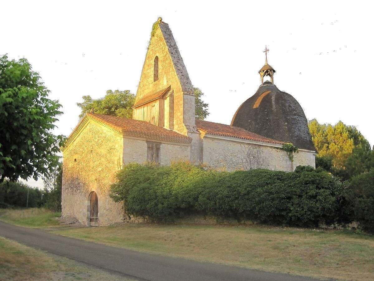 Église de Guinas à Cachen