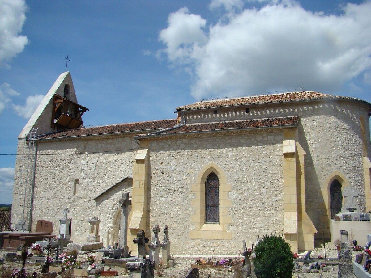 Église Saint-Martin à Auradou