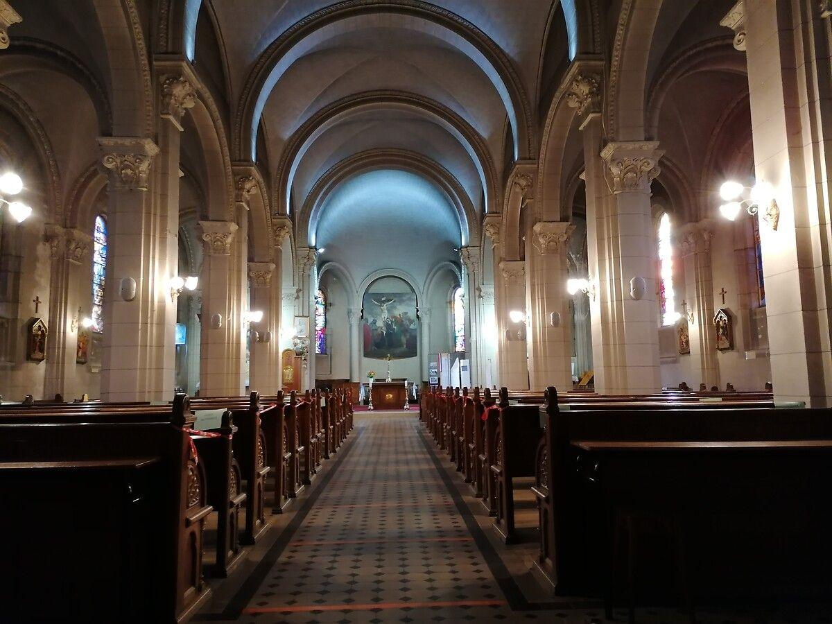 Eglise Sainte-Madeleine de Bouxières-aux-Chênes en Meurthe-et-Moselle