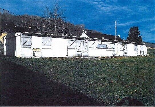 cabane du hameau de forestage