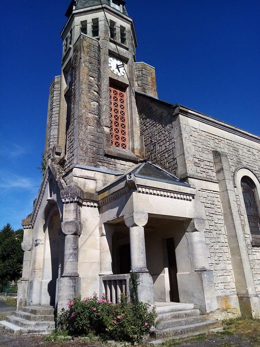 Eglise de Cheppy en Meuse