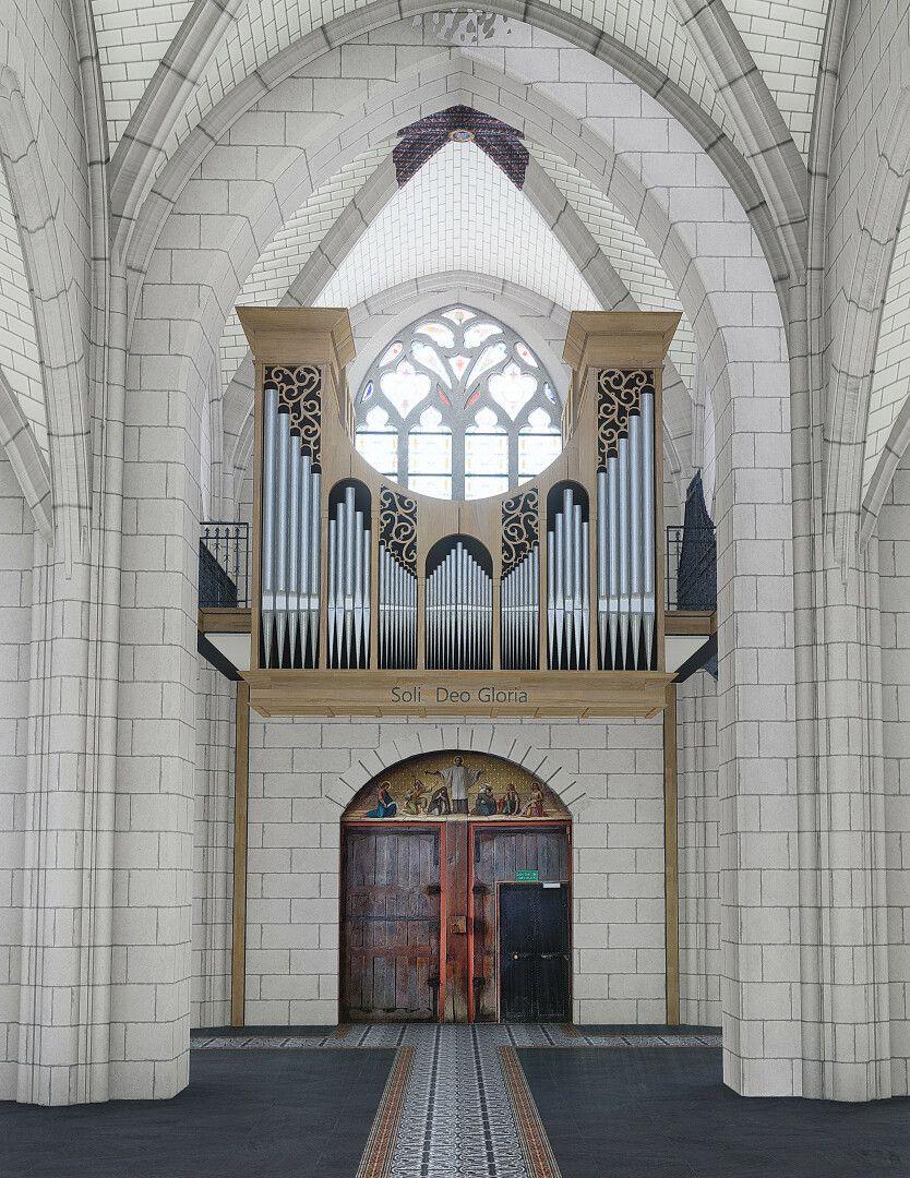 Orgue de l'église Saint-Symphorien de Fondettes