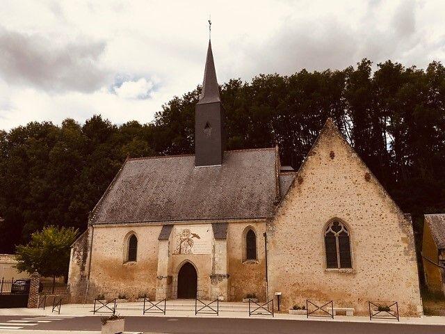 Eglise de Les Hermites en Indre-et-Loire