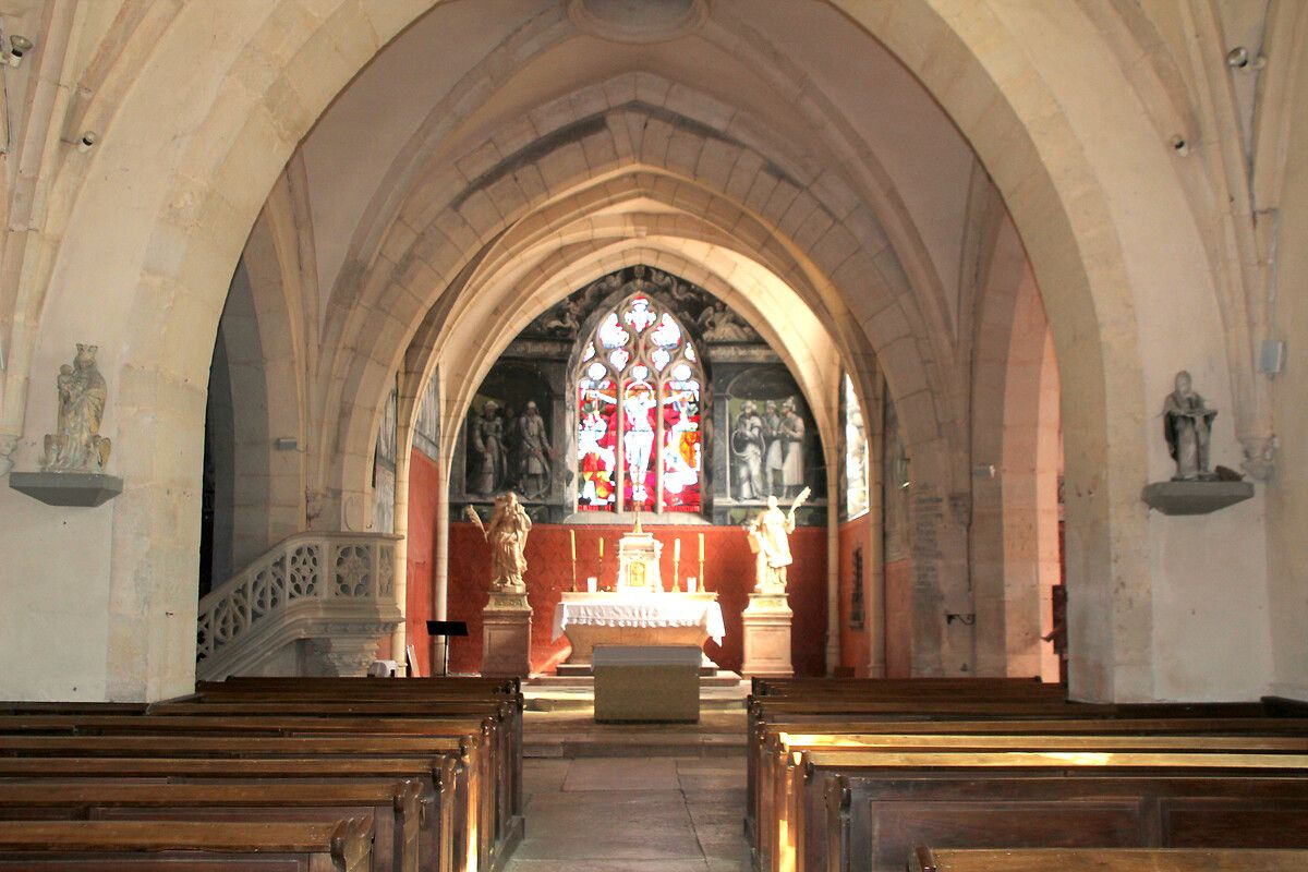 EGLISE A CHAMBOLLE MUSIGNY