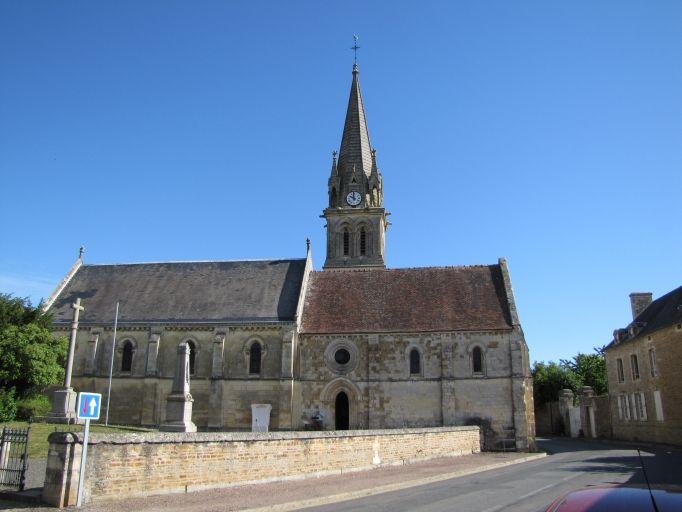 L'église de Saint-Laurent-de-Condel