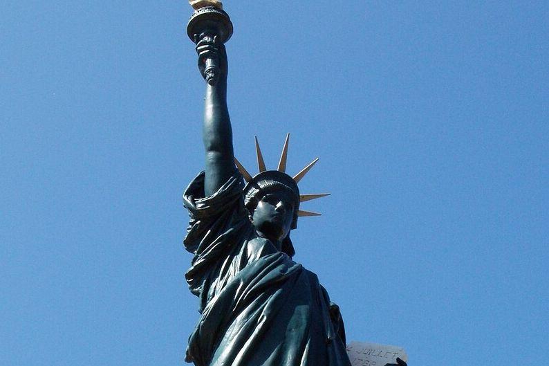 Statue de la Liberté de Roybon en Isère