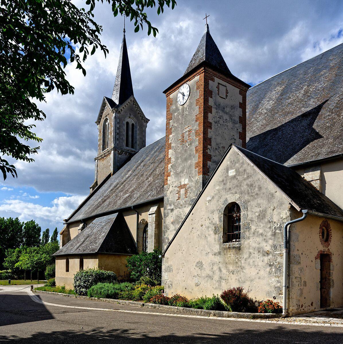 Eglise de Saint-Gondon dans le Loiret : projet de réhabilitation