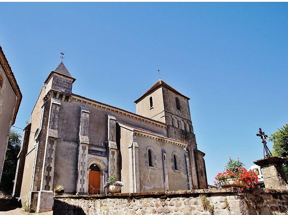 Eglise Saint-Martial à Augignac