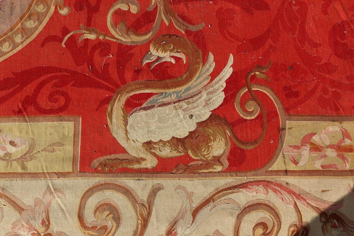 Tapis d'Aubusson de la Cathédrale de Bazas