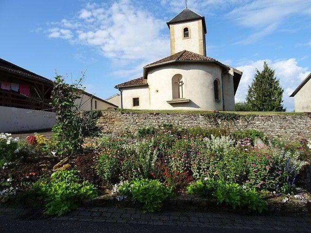 Eglise Saint-Gorgon de Ville-sur-Yron en Meurthe-et-Moselle