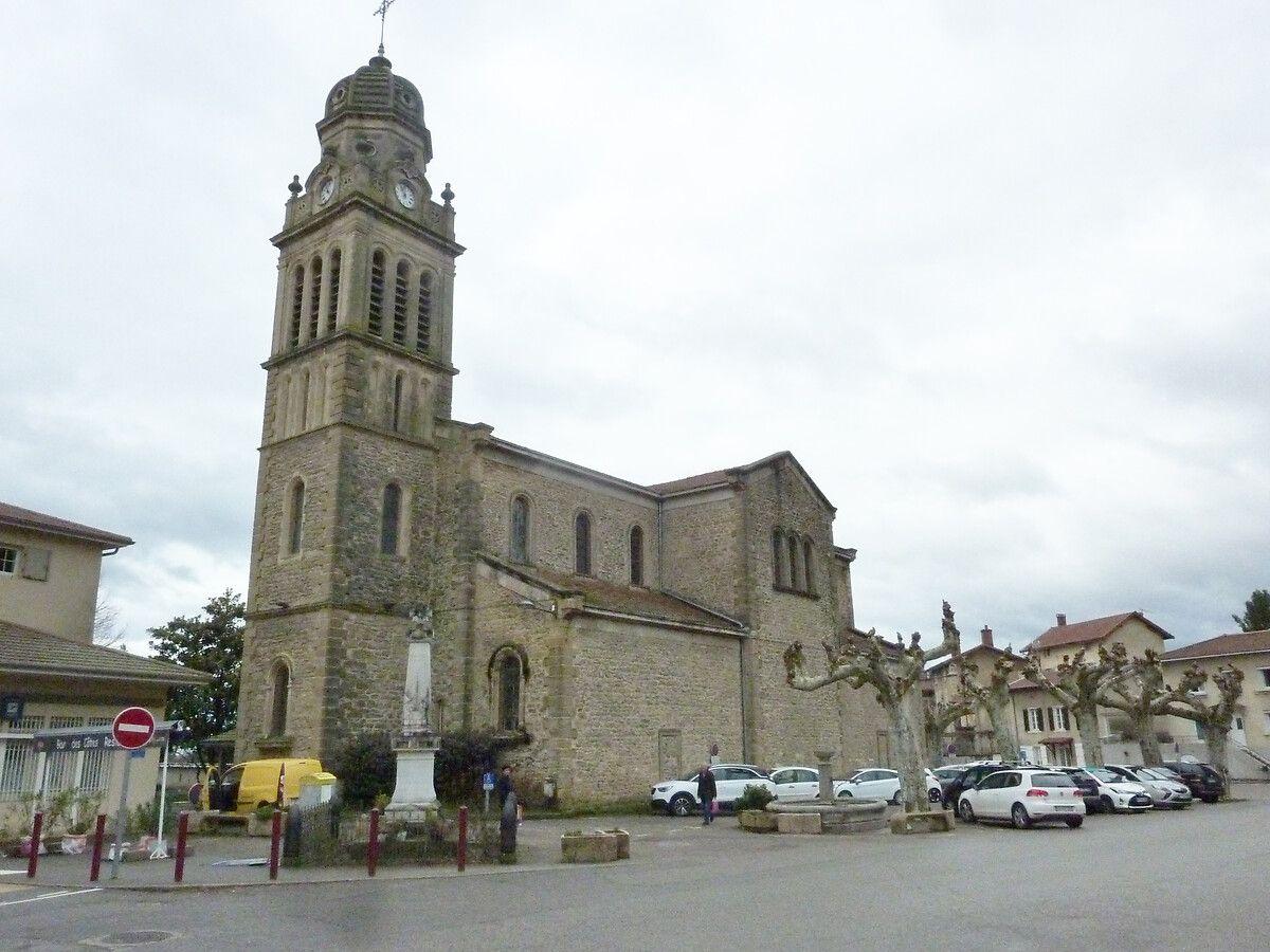 Eglise Saint Martin aux Cotes d'Arey en Isère