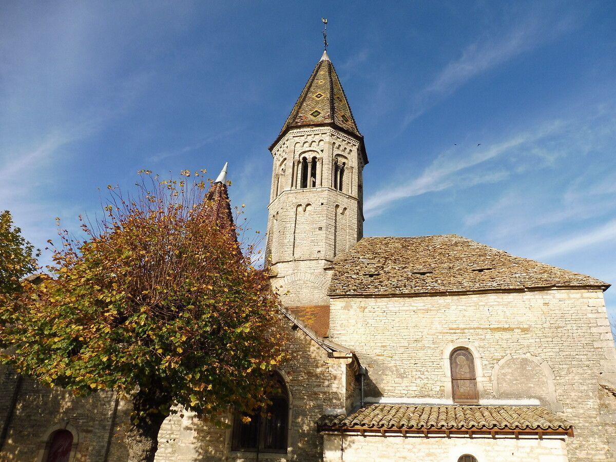 Eglise Notre-Dame de l'Assomption à Clessé