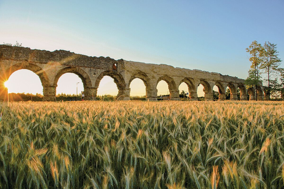 Aqueduc romain du Gier à Chaponost