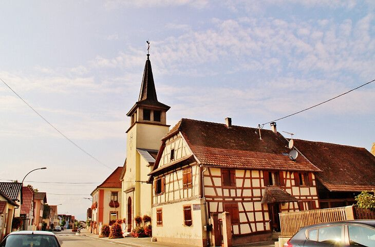 Eglise Saint-Jacques le Majeur de Wickerschwihr