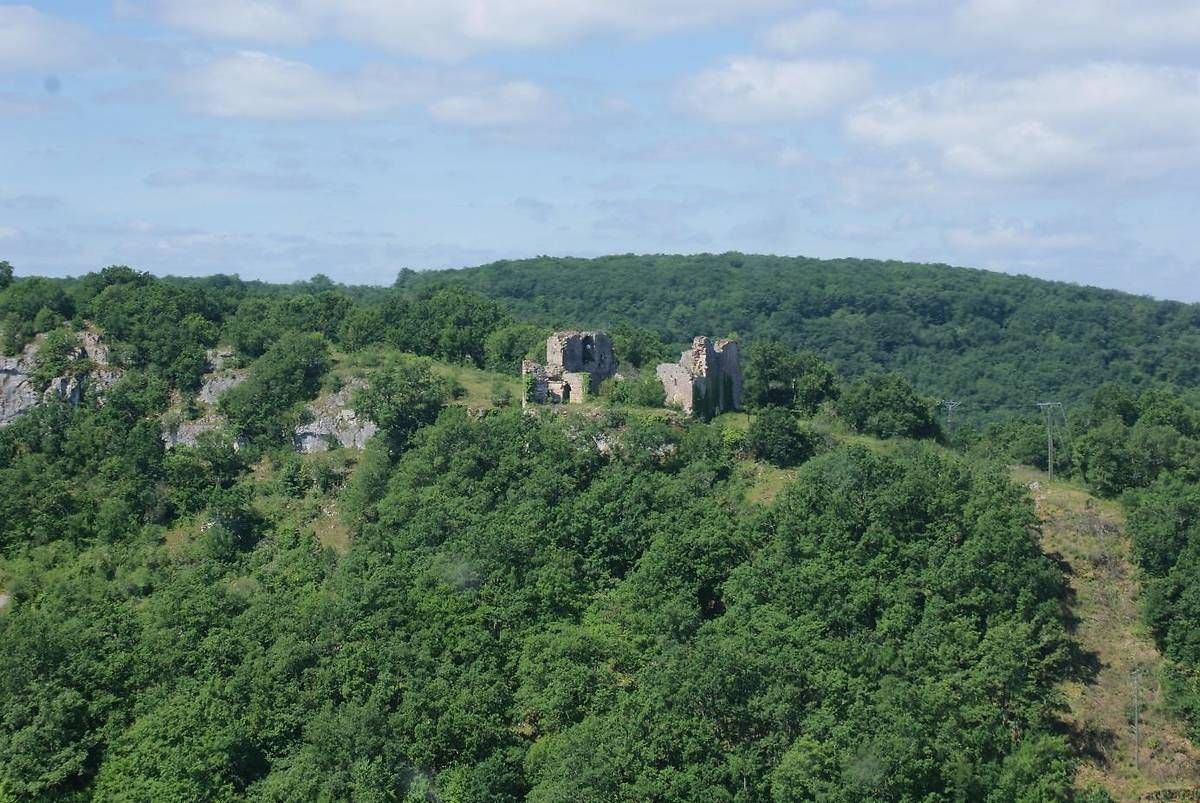 Le château de Taillefer à Gintrac