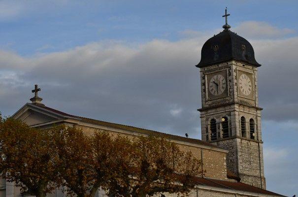 Eglise de Brangues en Isère