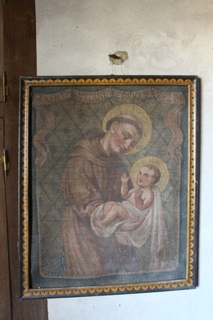 Tableau de Saint-Antoine de Padoue à Mercoeur