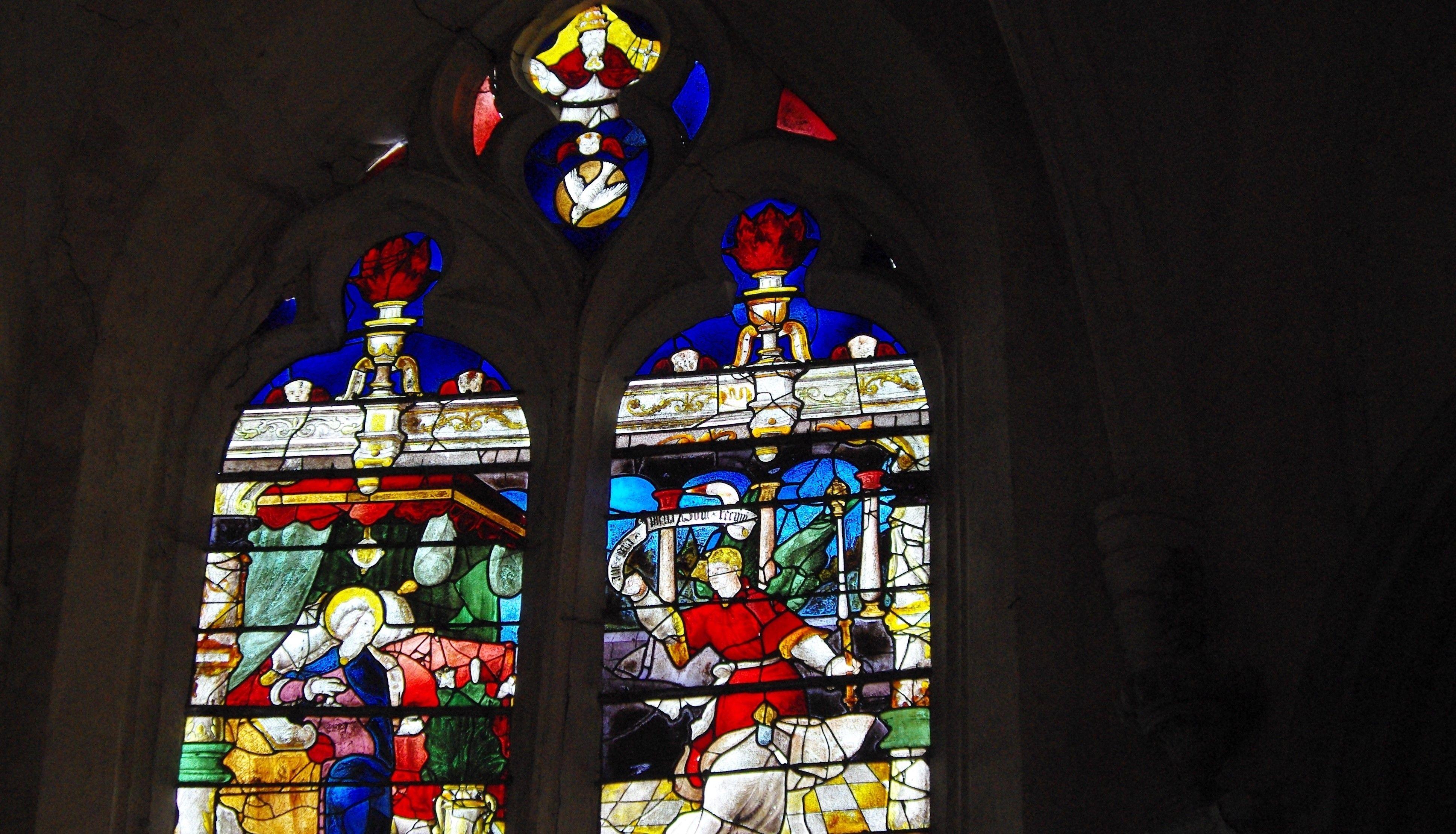 Vitraux de l'église Saint-Authaire d'Ussy-sur-Marne