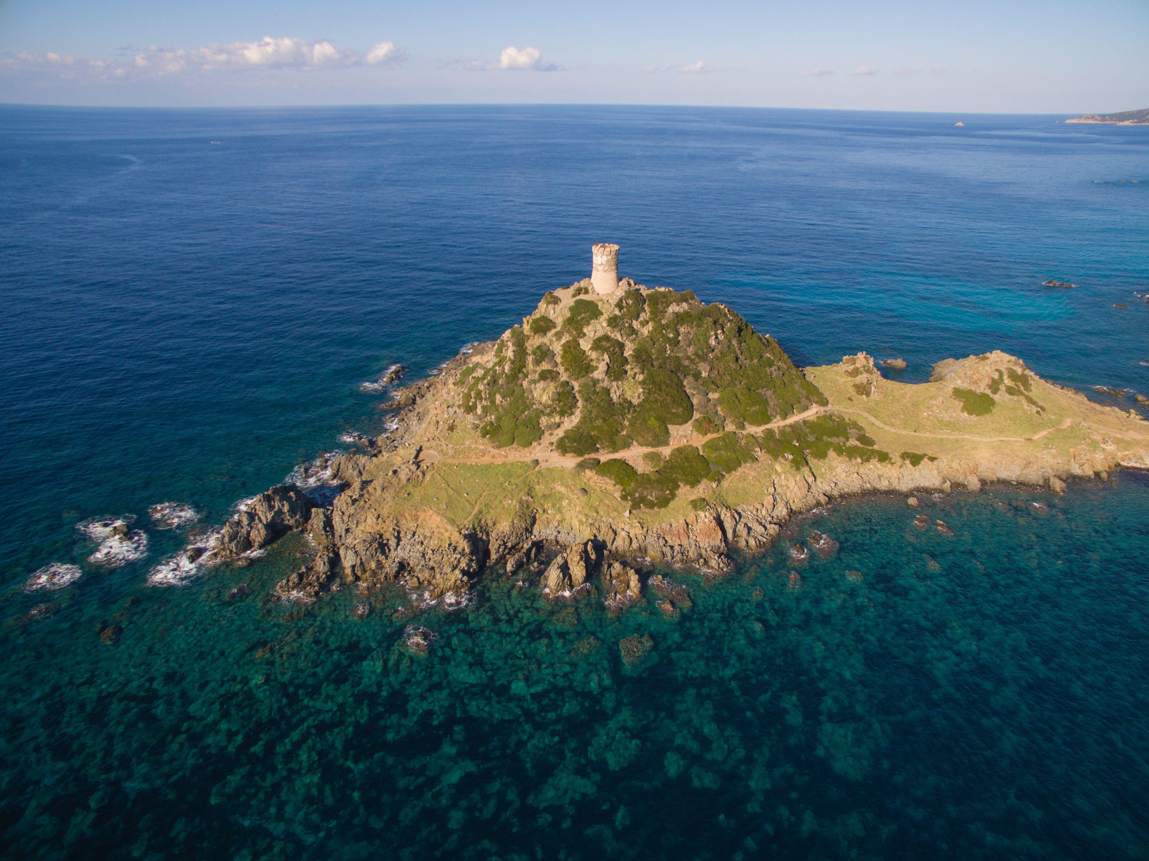 Restauration de la tour de la Parata à Ajaccio