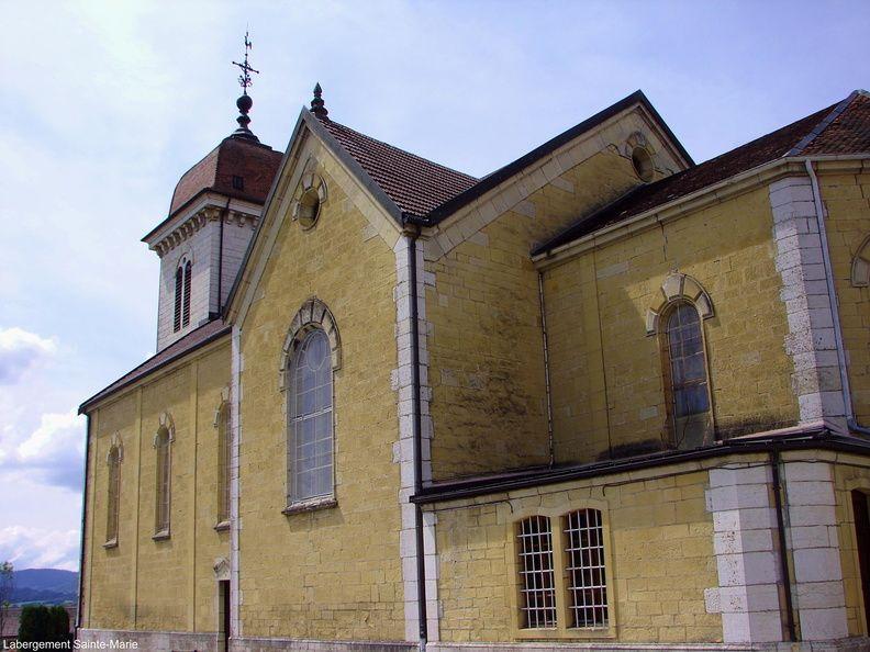 église saint théodule de labergement sainte marie