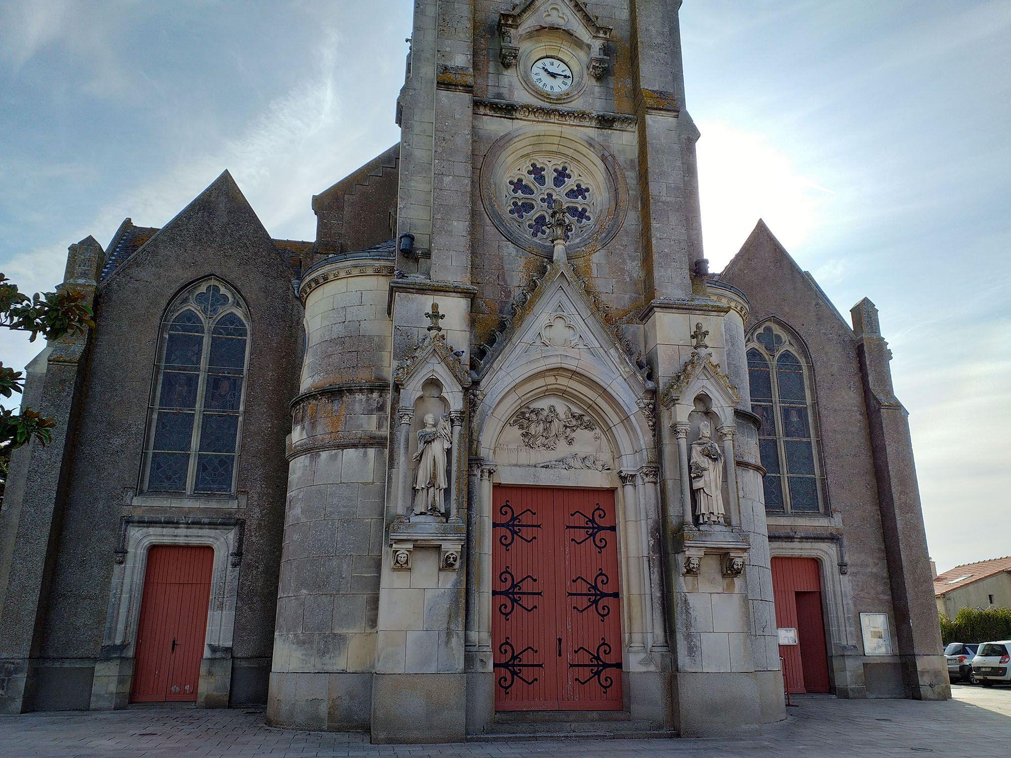 Église Saint-Martin de la Chevrolière en Loire Atlantique