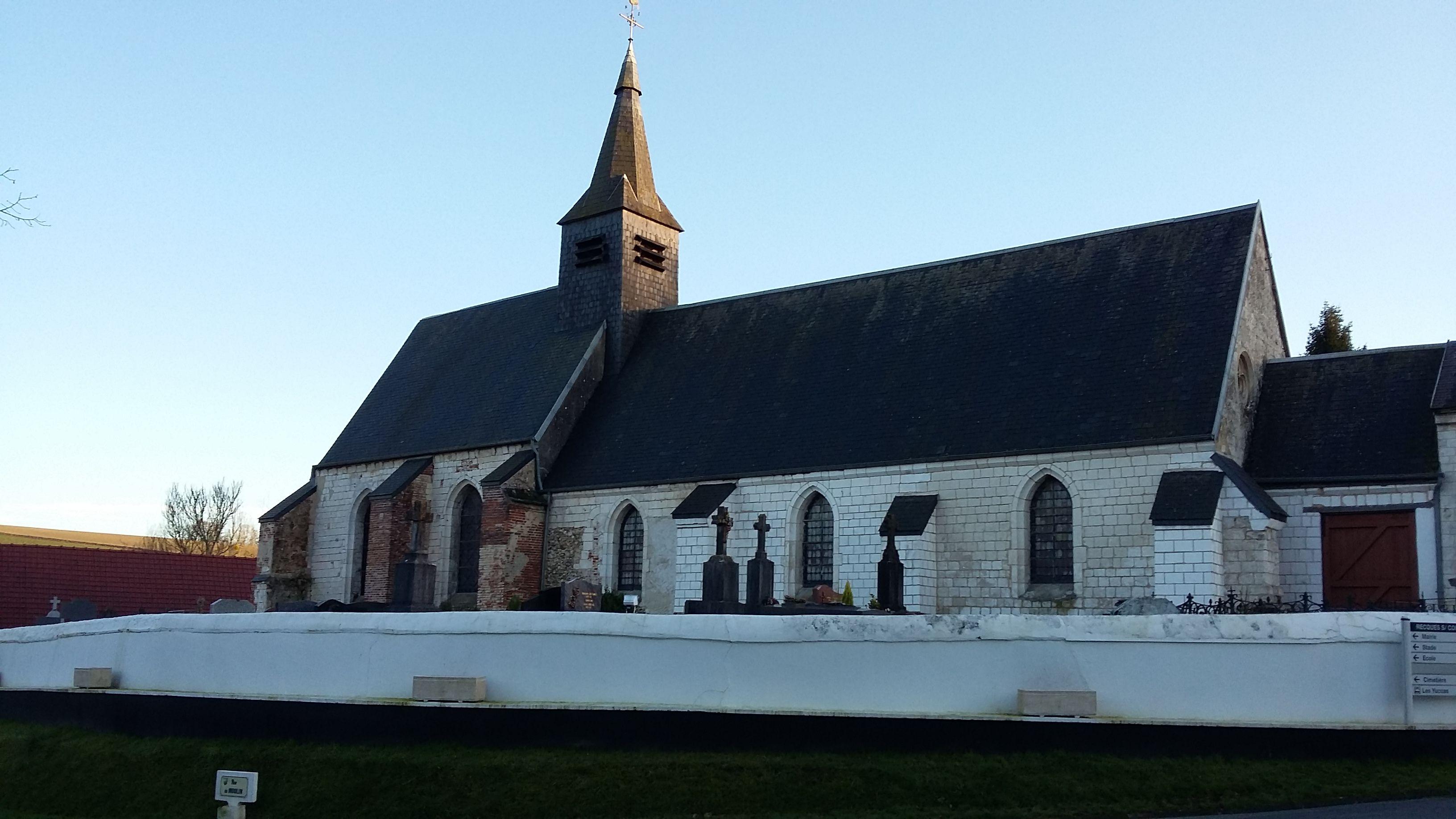 Eglise Saint-Léger de Recques-sur-Course